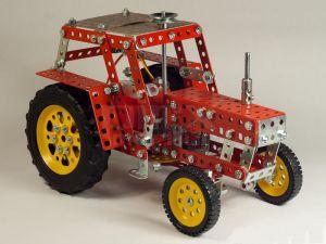 Stavebnice Merkur traktor