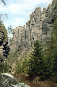 Vstup do Anenského údolí